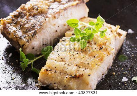 Filet de poisson frit la po le imprimer en ligne - Poisson a la poele ...