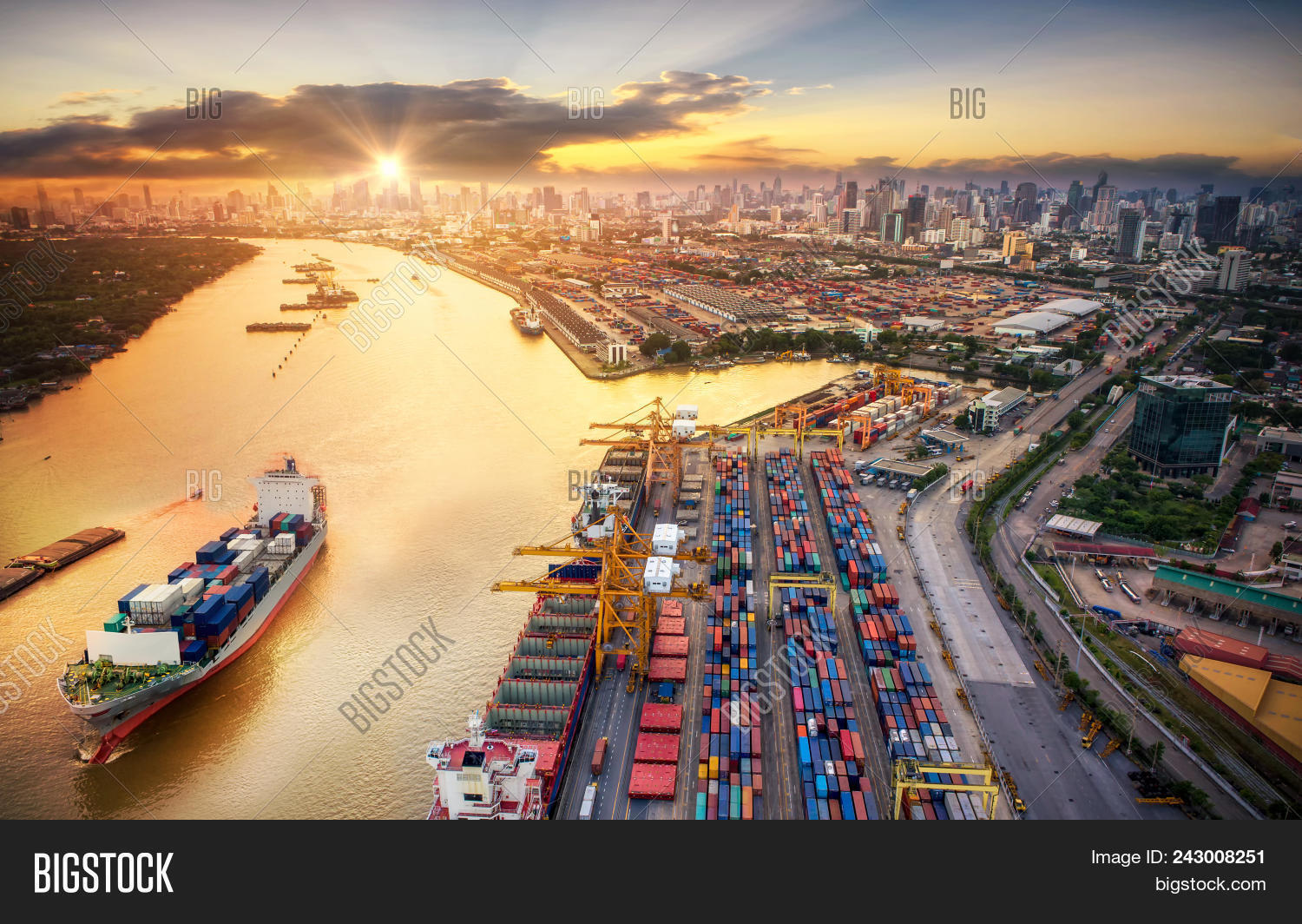 bangkok,boat,box,business,cargo,chain,city,commerce,concept,construction,container,courier,crane,delivery,distribution,dock,dockyard,economy,export,freight,global,harbor,harbour,import,industrial,industry,international,loading,logistic,maritime,nautical,plane,port,seaport,ship,shipping,shipyard,stacked,storage,structure,supply,technology,terminal,trade,traffic,transport,transportation,truck,unloading,weight