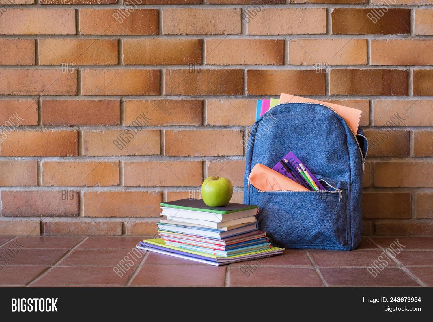 apple,back,back to school,background,backpack,bag,baggage,blue,book,brick,case,child,concept,copy space,education,educational,elementary,elementary school,fruit,haversack,heap,knowledge,learn,luggage,nobody,notebook,notebook paper,object,pen,pencil,pocket,primary,rucksack,school,stack,student,study,supply,wall,wooden