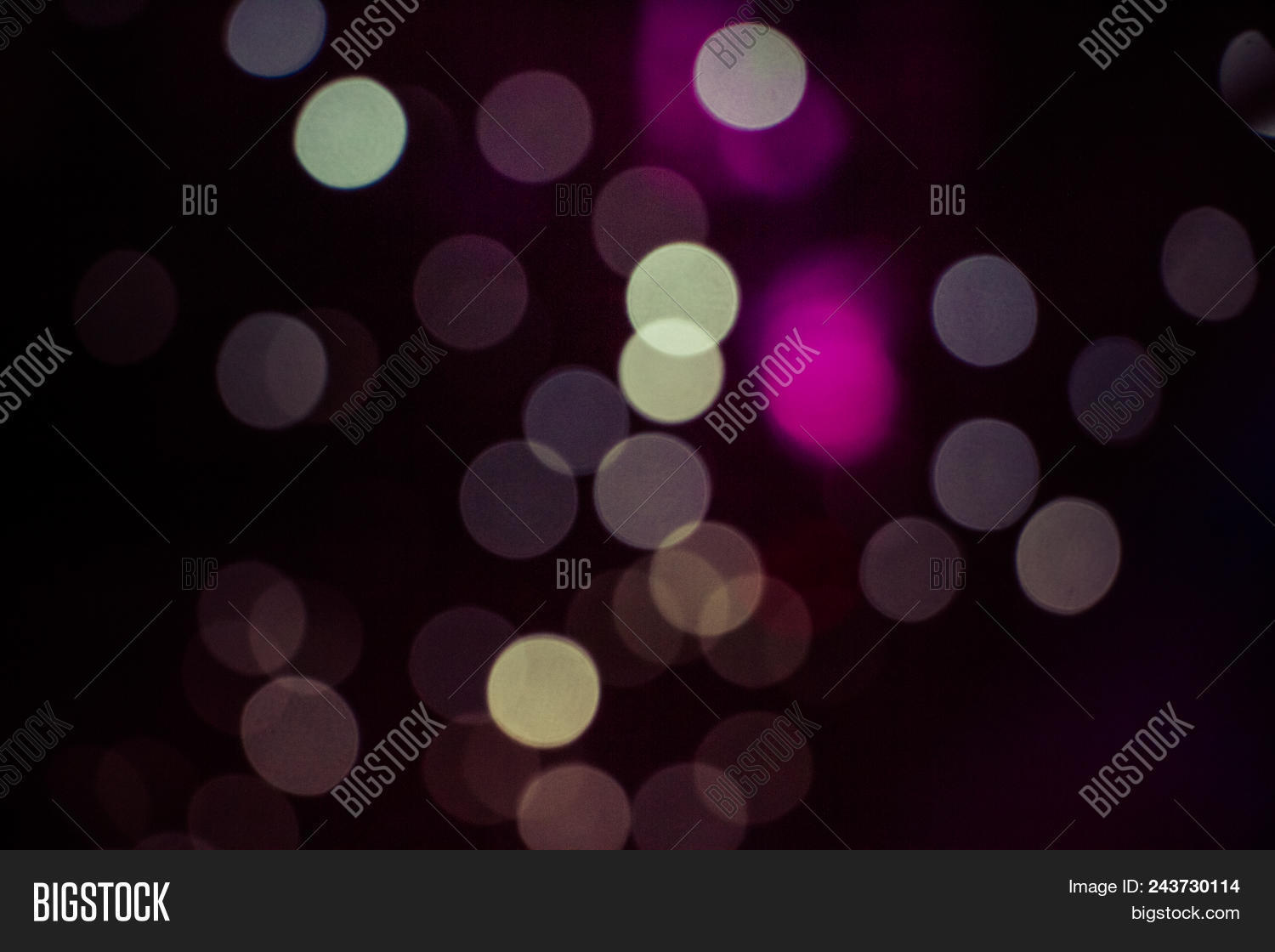 Bokeh Light Vintage Background, Defocused Bokeh Lights, Bokeh With Multi Colors, Festive Lights Boke