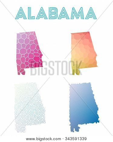 Salt Cay, Turks Islands badge. Bright gradient logo of island in low poly style. Multicolored Salt Cay, Turks Islands rounded sign with map in geometric style for your infographics. stock photo