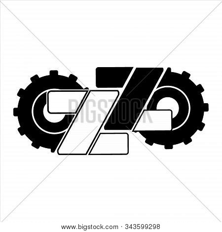 gear icon, vector icon. Gear icon on a white background. trendy and modern icons. symbol for graphic. design and web icons. gear collection. Eps 10. Flat gear vector icon. Simple gear icon. gear icon and double Z letter. design illustration. Gear icon for stock photo