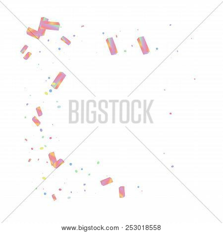 Rainbow effect holographic background. Iridiscent neon glitter. Blue, pink, mint vector foil. Crystal abstract particles. Sparkle gradient boxes. Trendy hologram texture. Mesh kaleidoscope metal print stock photo