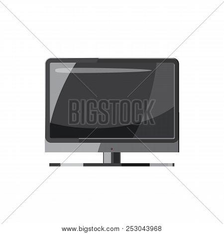 TV icon in cartoon style isolated on white background. Tehnique symbol stock photo