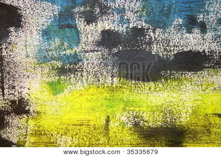 Oeuvres d'art abstrait,