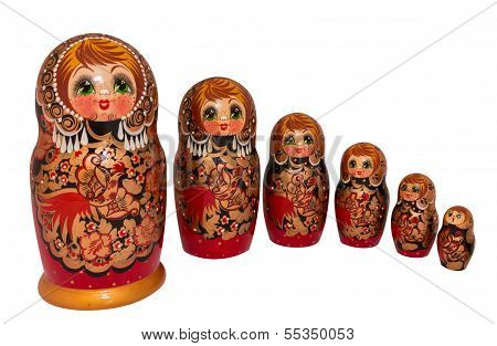 Russian nested dolls, also known as matryoshka , are used metaphorically, as a design paradigm, known as the