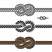vector dark rope hitch images