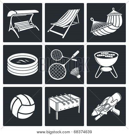 Recreation Icon Set