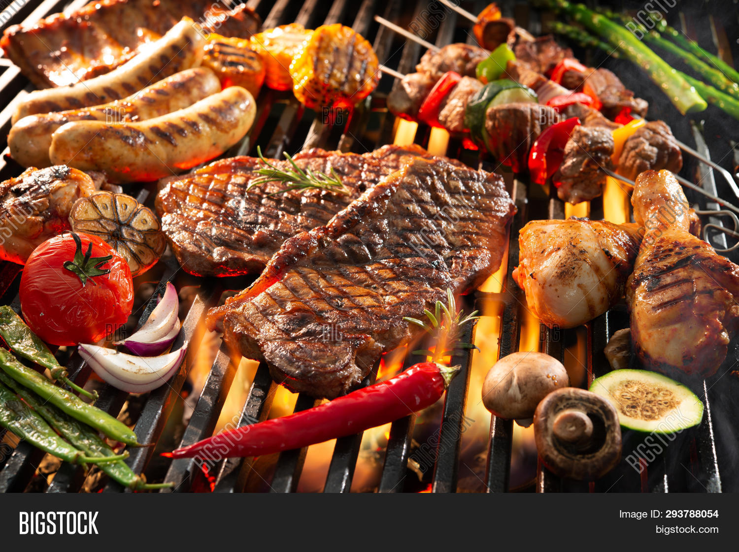 barbecue,barbecued,barbecuing,barbeque,bbq,beef,bratwurst,charcoal,chicken,closeup,coals,cooked,cooking,cookout,dark,dinner,fire,flame,food,garden,grill,grilled,grilling,heat,herb,hot,kebab,kebabs,meal,meat,outdoors,party,picnic,pork,preparation,ribs,roast,roasted,sausage,season,seasoning,selection,shashlik,sizzling,skewer,smoke,spare ribs,steak,vegetable,weekend