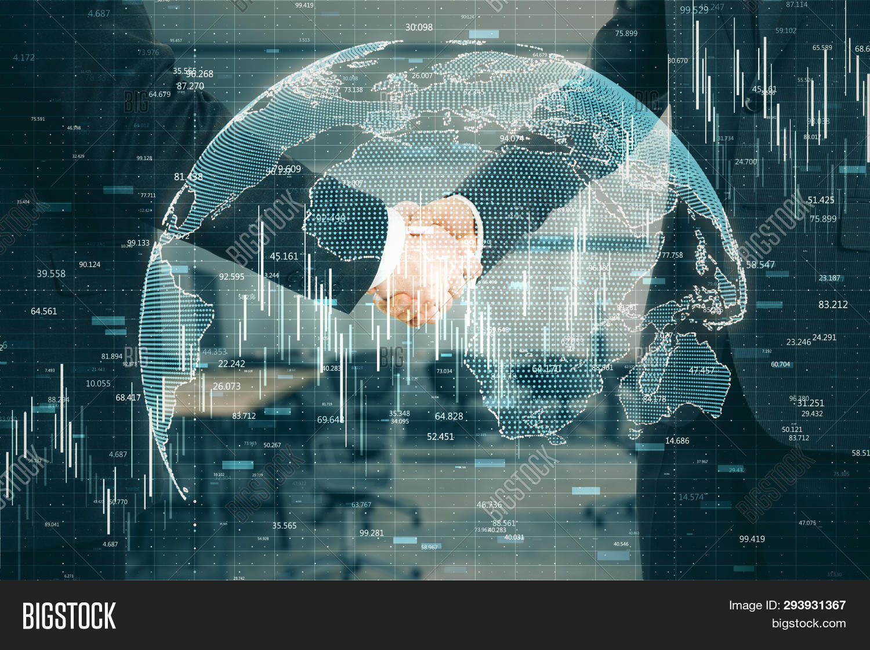 Teamwork And Global Trade Concept