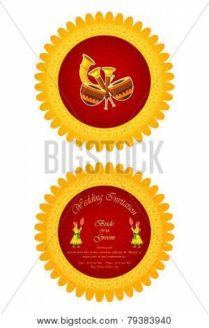 Indian Wedding Invitation Card 79383940 Image Stock Photo