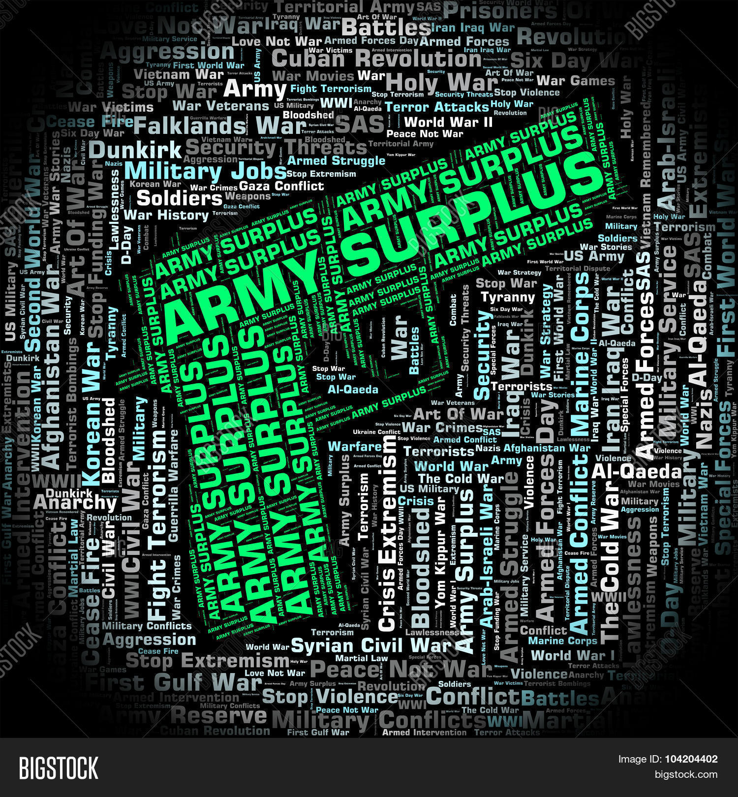 🔥 Army Surplus Indicates Armed Services And Armies