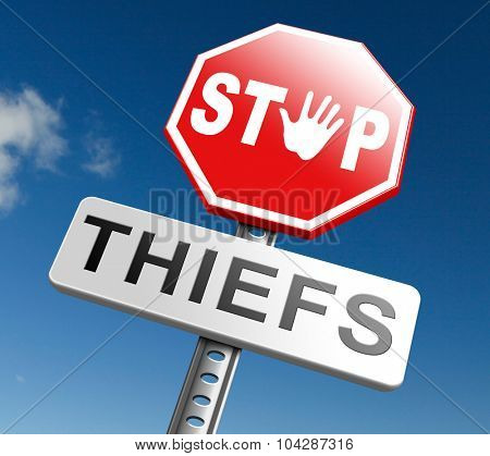 catch thiefs stop theft no robbery or pick pocket thief arrest by police investigation or neighborhood watch prevention stock photo