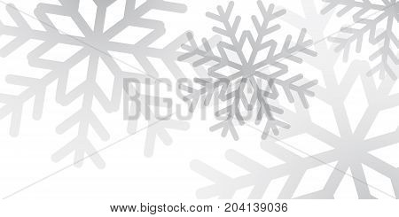 Snowflakes Background Snow Design