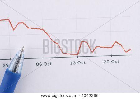 financial crysis stock market bessa crash index stock photo