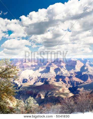 Grand Canyon National Park in Arizona USA stock photo