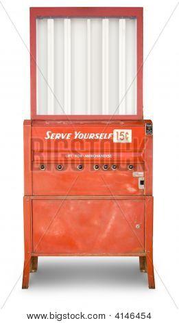Vending Machine-Lg Fridge Magnet Skin (size 36x65)