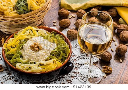 homemade italian pasta called