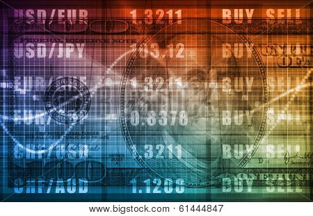 Stock Market Analaysis and Trends in a IPO stock photo