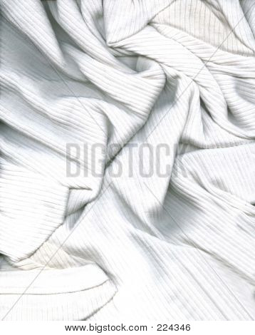 a scan of a wrinkled white shirt stock photo