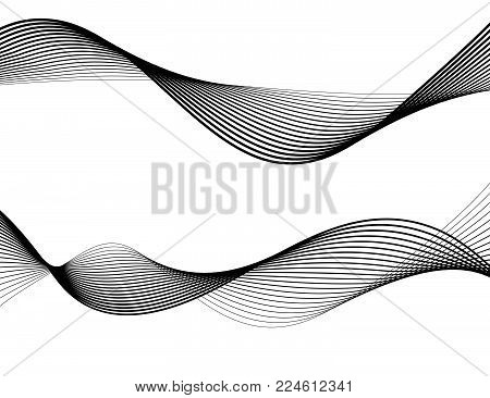 Line The Art Element : ▷ design element wave many parallel lines wavy form29 photo stock