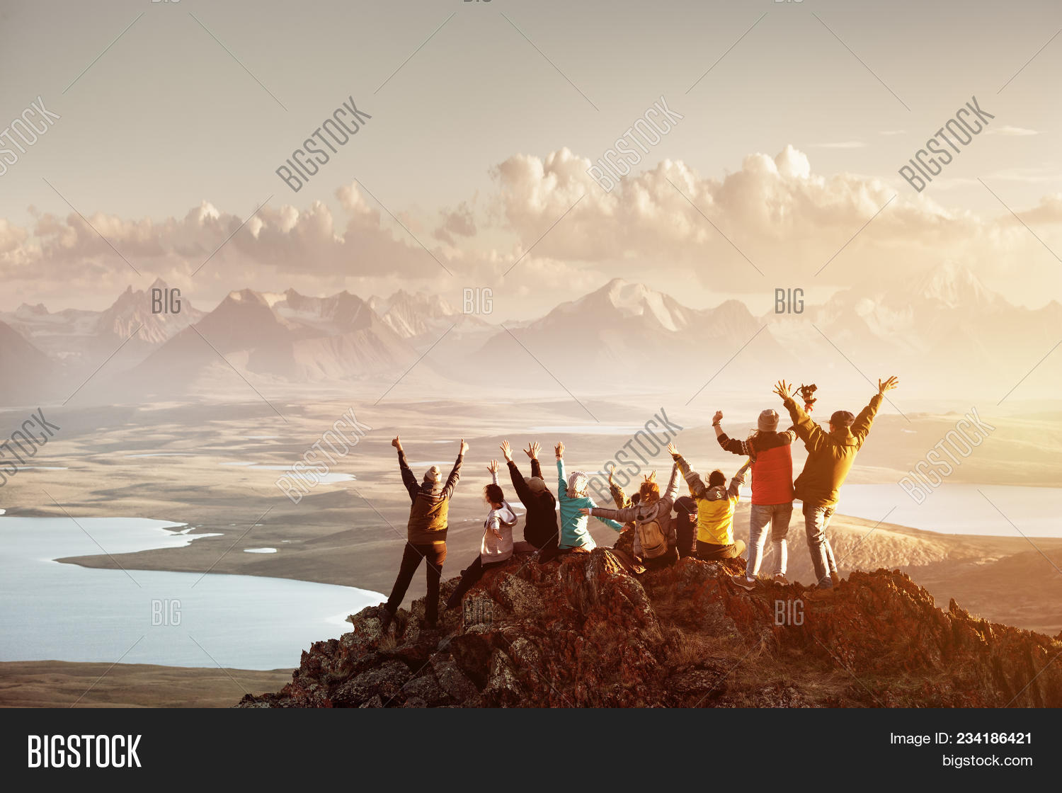 activity,adventure,altai,altay,altitude,backpack,cliff,climber,climbing,clouds,day,endurance,enjoying,extreme,freedom,friends,group,happy,high,hike,hiking,hill,horizon,journey,landscape,leisure,male,man,mountain,nature,peak,people,raised,relaxing,rock,sitting,sport,standing,success,sunset,team,together,top,tourist,travel,trekking,valley,view,woman,young