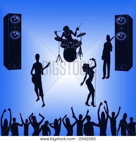 Pop Band Blue