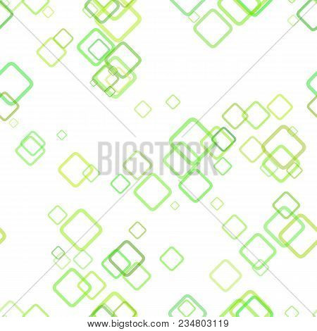 Seamless geometrical square background pattern - vector illustration from random diagonal squares with opacity effect stock photo