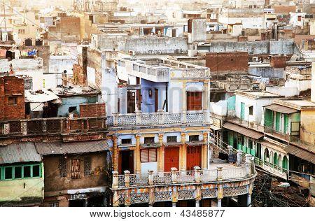 Vieux delhi, inde, asie