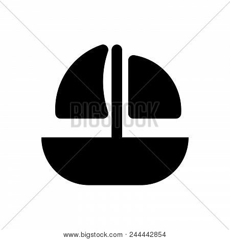 sailing ship vector icon on white background. sailing ship modern icon for graphic and web design. sailing ship icon sign for logo, website, app, ui. sailing ship flat vector icon illustration, EPS10 stock photo