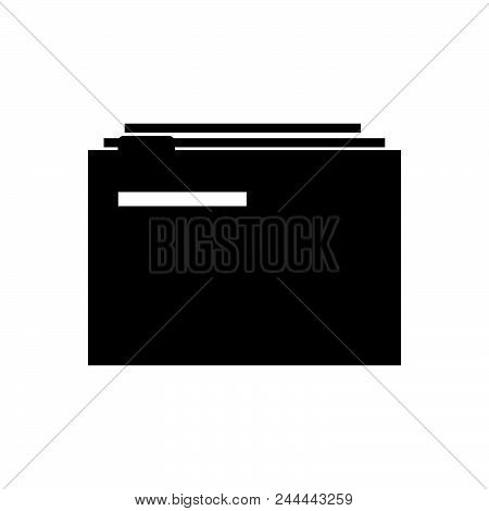 files vector icon on white background. files modern icon for graphic and web design. files icon sign for logo, website, app, ui. files flat vector icon illustration, EPS10 stock photo