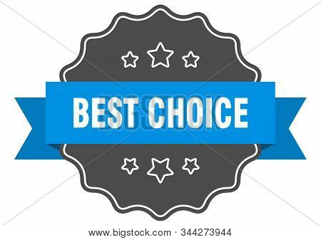 best choice blue label. best choice isolated seal. best choice stock photo