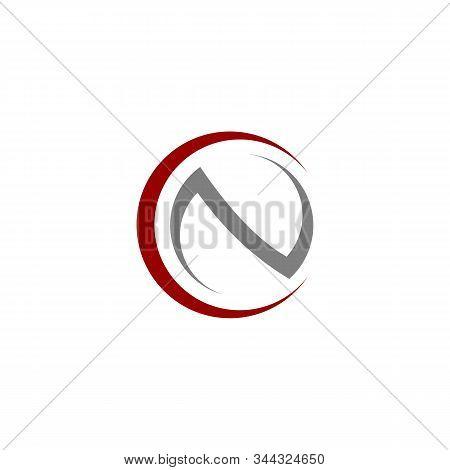 initial CN circle Logo Template vector premium design stock photo