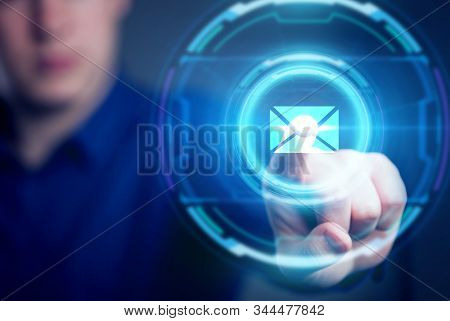 Business, Technology, Internet and network concept. Automation Software Technology Process System. stock photo