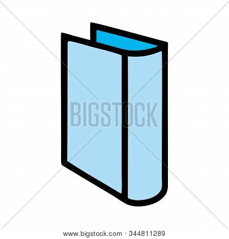 Book icon isolated on white background from miscellaneous collection. Book icon trendy and modern book symbol for logo, web, app, UI. Book icon simple sign. Book icon flat vector illustration for graphic and web design. stock photo