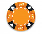 vector poker chip