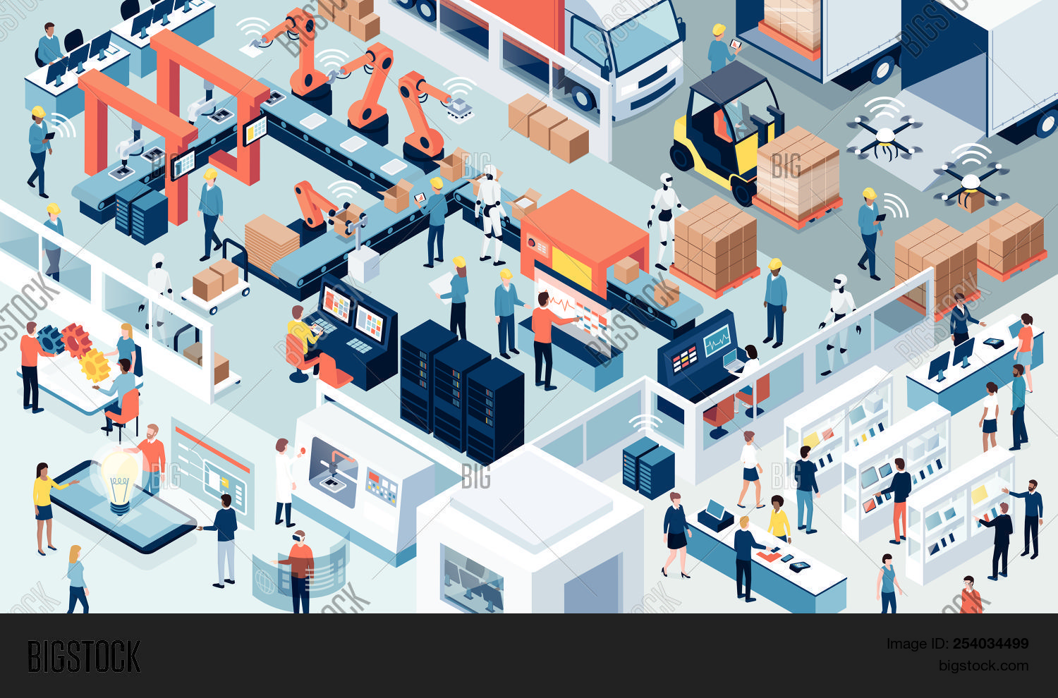 4.0,assembly,assistance,automation,computers,computing,connect,conveyor,customer,cyber-physical,data,delivery,design,digital,distribution,electronics,engineers,factory,hmi,human,industrial,industry,innovation,interface,internet,iot,isometric,line,machine,manufacture,manufacturing,of,people,process,production,products,project,retail,revolution,robots,sensors,smart,system,teamwork,technology,things,transport,transportation,truck,workers