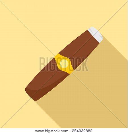 Luxury cuba havana icon. Flat illustration of luxury cuba havana vector icon for web design stock photo