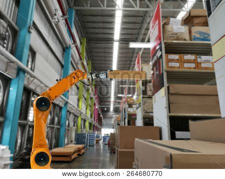 Smart Robot Industry Arm Products Storage Factory And Warehouse