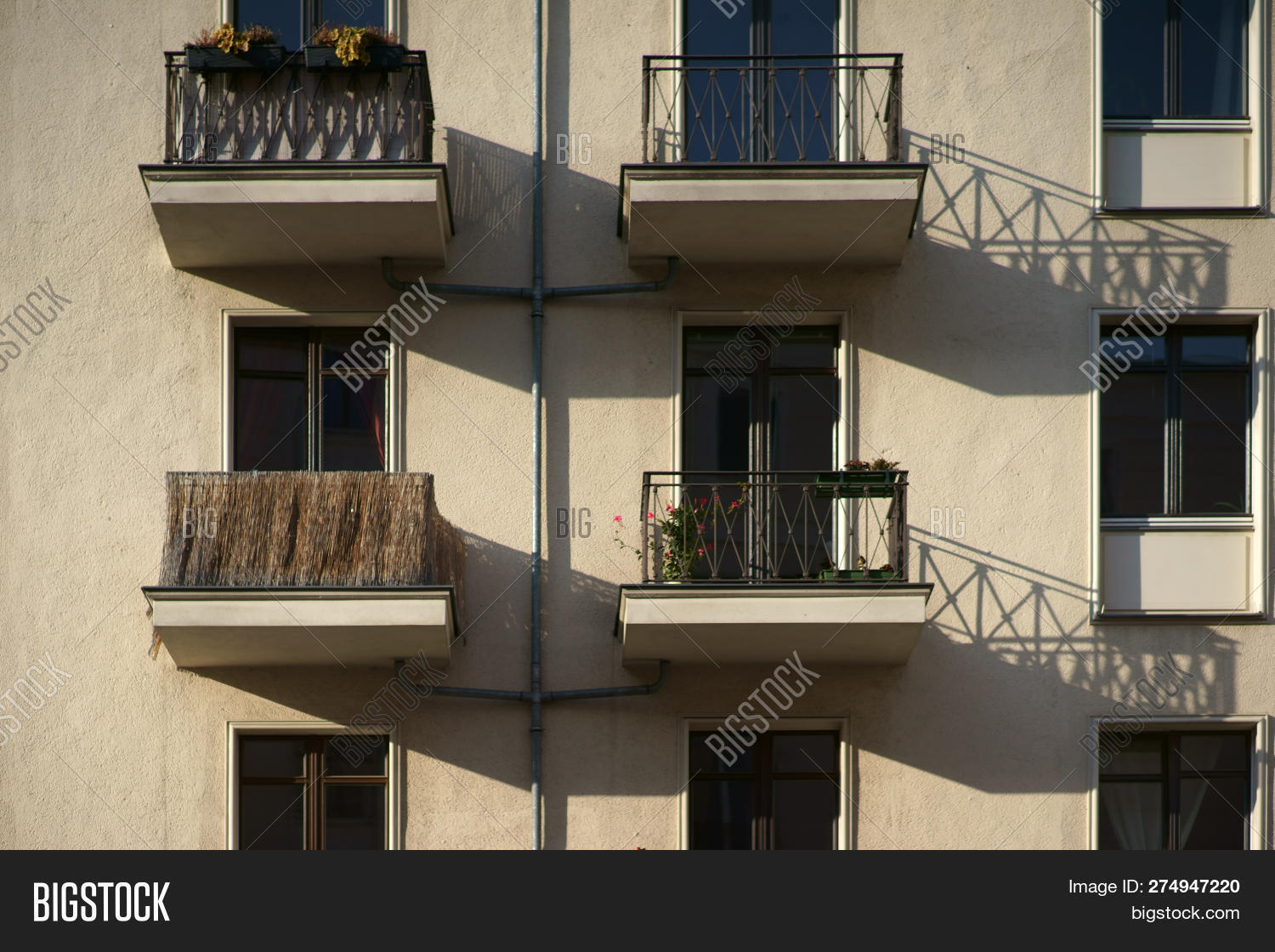 🔥 The Railings Of Small Nostalgic Balconies Of An Apartment ...