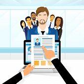 Curriculum Vitae Recruitment Candidate Job Position