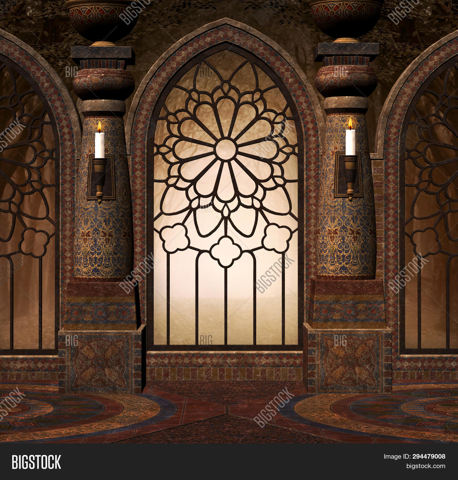 3D,abandoned,ages,ancient,arch,backdrop,backgrounds,building,castle,columns,corridor,dark,door,enchanted,entrance,exit,fairy,fantasy,floor,fog,forest,gateway,gothic,hall,hallway,illustration,indoor,interior,landmark,lanterns,mansion,marble,medieval,middle,mysterious,old,palace,passage,pillars,place,portal,room,ruins,secret,stone,surreal,tale,wall,window