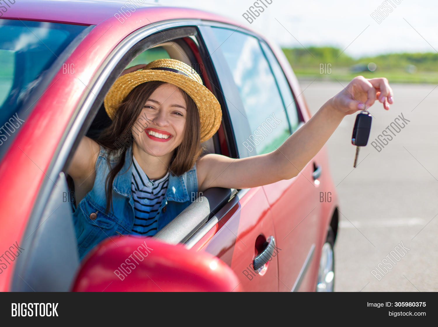 adult,attractive,auto,automobile,beautiful,business,car,caucasian,closeup,color,drive,driver,female,girl,hand,happy,holding,human,key,license,modern,new,outdoor,owner,people,person,portrait,pretty,purchase,red,rental,sale,showing,smile,transport,transportation,travel,vehicle,woman,young
