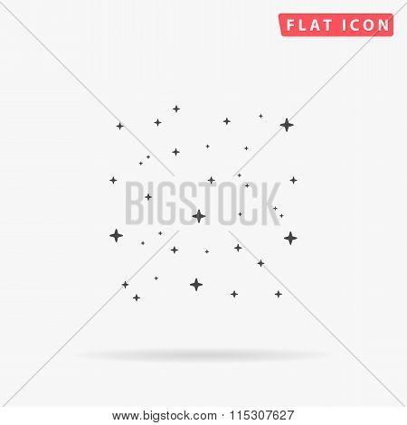 stars simple flat icon