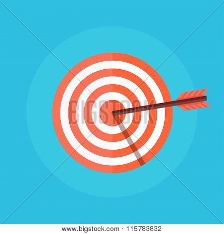 Target with an Arrow