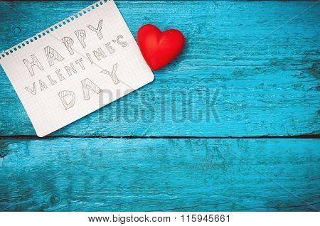 Note Happy Valentine\'s Day
