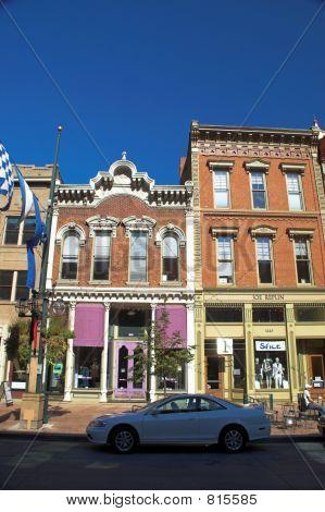 Historic Lodo in downtown Denver stock photo