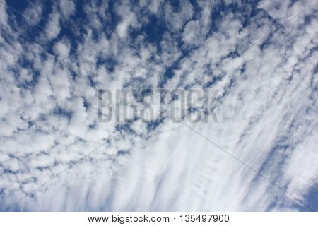 Cloud Textures with Blue Sky 1 stock photo