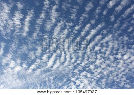 Cloud Textures with Blue Sky 14 stock photo