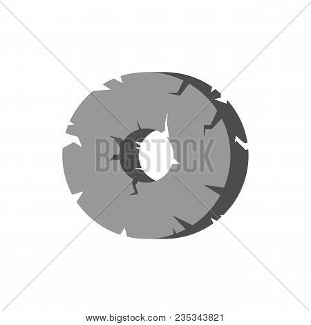 Primitive tool icon. Flat illustration of primitive tool vector icon for web stock photo